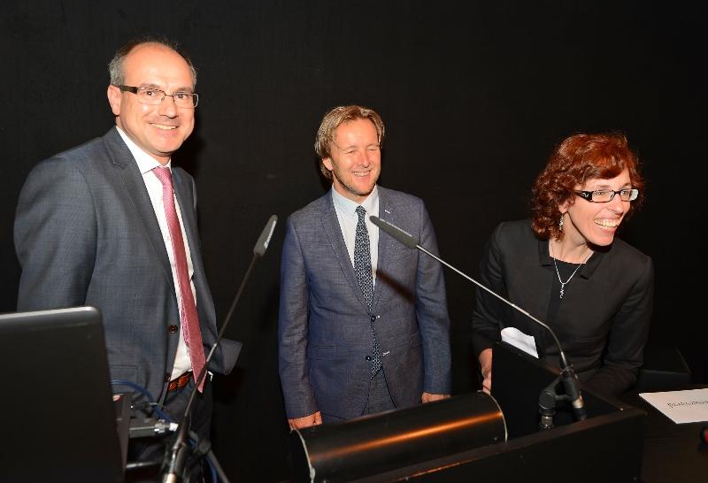 NWO-Spinoza Laureates Bert Weckhuysen and Piek Vossen