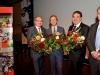 NWO-Spinoza Laureates Bert Weckhuysen, Piek Vossen and Mikhail Katsnelson