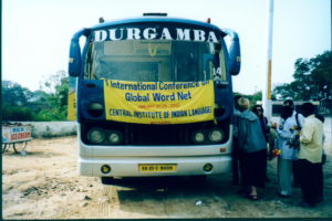 The GWA-bus at the 1st GWA Conference 2002, India